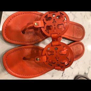 Tory Burch Miller Sandals Orange